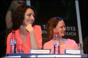 Jana Burkiewiczová a Adéla Laštovková Stodolová