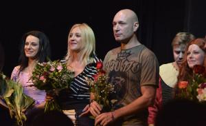 Autoři Mirjam a Daniel Landa na premiéře