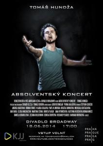 Plakát ke koncertu