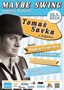 Oficiální plakát koncertu