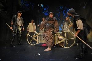 Mnich Tuck v Robinu Hoodovi