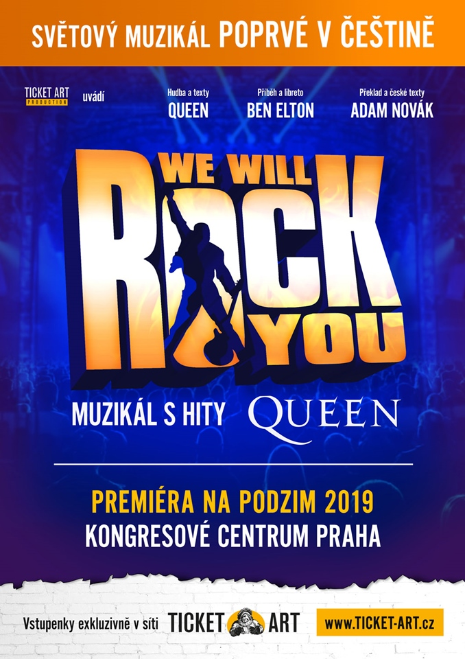 We Will Rock You - plakát