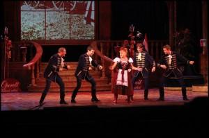 Marika Oszvald rozparádila muže na jevišti i diváky v publiku