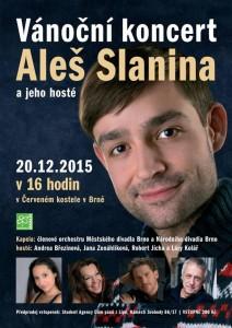 Plakát k brněnskému koncertu