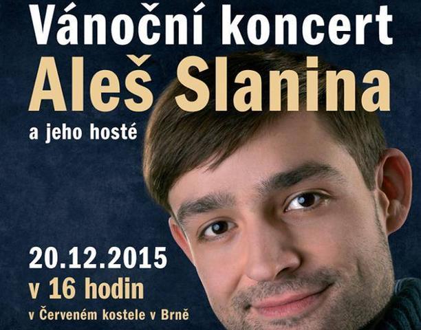 Vánoční koncerty Aleše Slaniny 2015