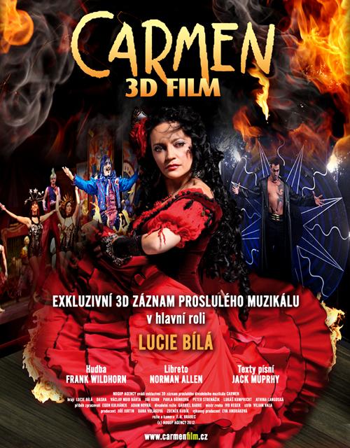 """Karlínská """"Carmen"""" zamíří ve 3D v lednu do kin (+ trailer)"""