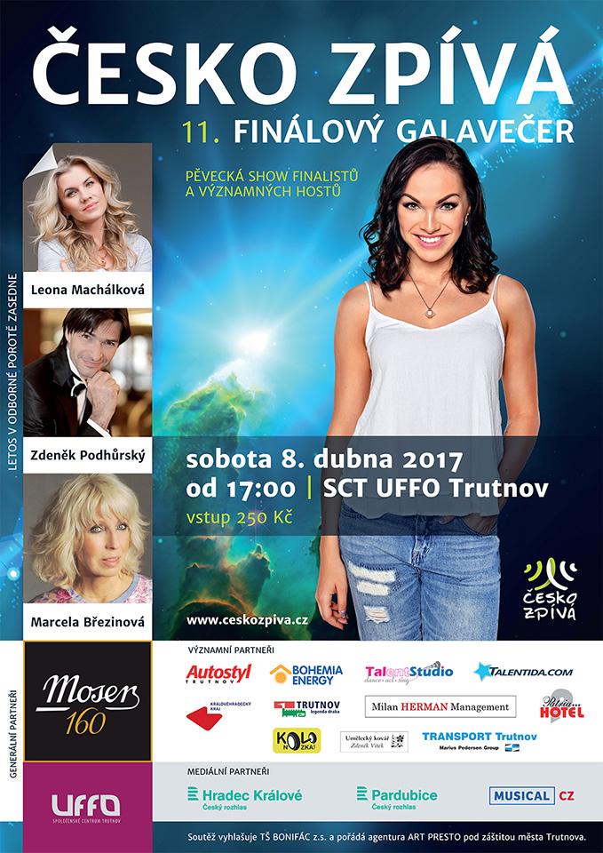 Finálový galavečer ČESKO ZPÍVÁ 2017