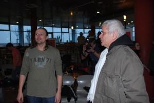 Pavel Polák s Petrem Štěpánkem
