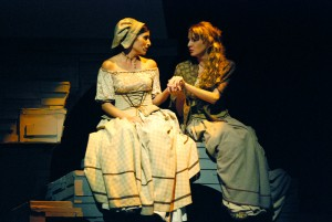 Zuzana (Markéta Zehrerová) a Lízl (Knoflíčková)