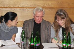 Eva Hrbáčková, Pavel Fieber s překladatelkou Janou Nováčkovou