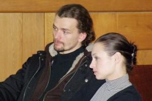 Dušan Vitázek a Radka Coufalová