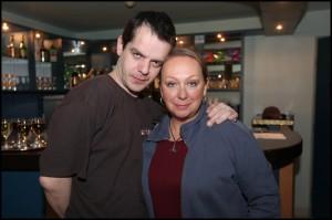Choreograf Martin Pešek s Gábinou Osvaldovou