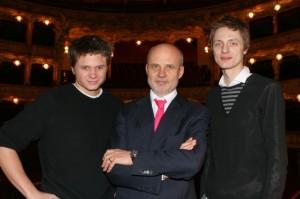 Ondřej Brzobohatý, Michal Horáček a Onřej Ruml