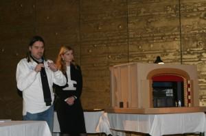 Producent Oldřich Lichtenberg s MgA. Michaelou Hořejší