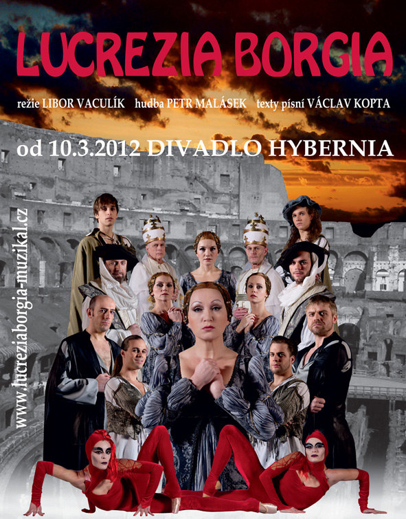 """""""Lucrezia Borgia"""" – video ukázky ze zkoušek v divadle Hybernia"""