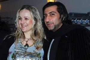 Linda Finková a Ali Amiri
