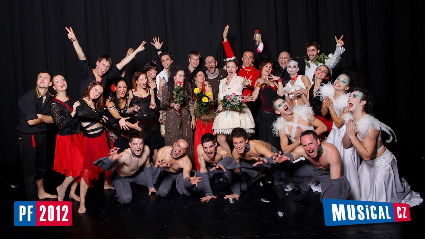 Muzikálové PF 2012