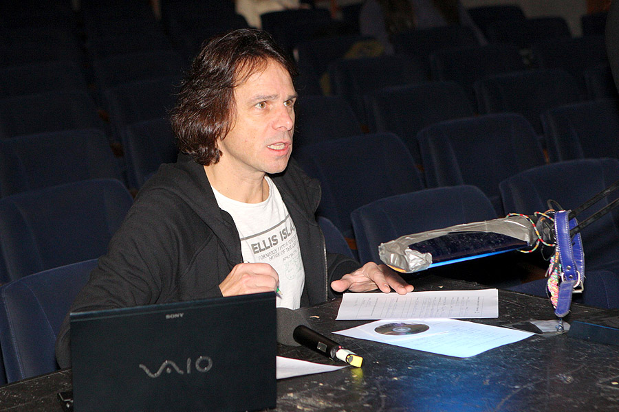 "Fotoreportáž: Konkurz do muzikálu ""Hamlet"" v divadle Broadway"