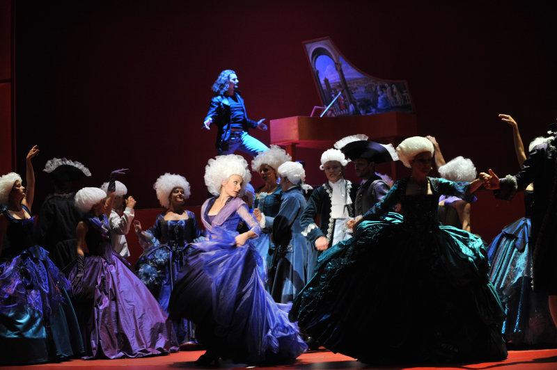 """Preview brněnského nastudování muzikálu """"Mozart!"""""""