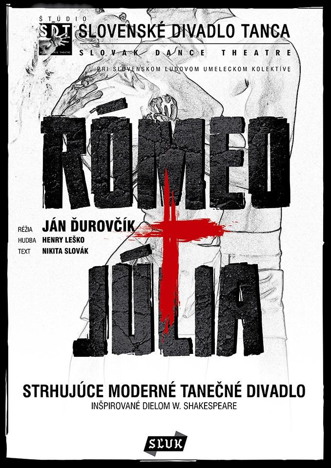 Romeo a Julia Slovenske divadlo tanca Divadlo Kalich