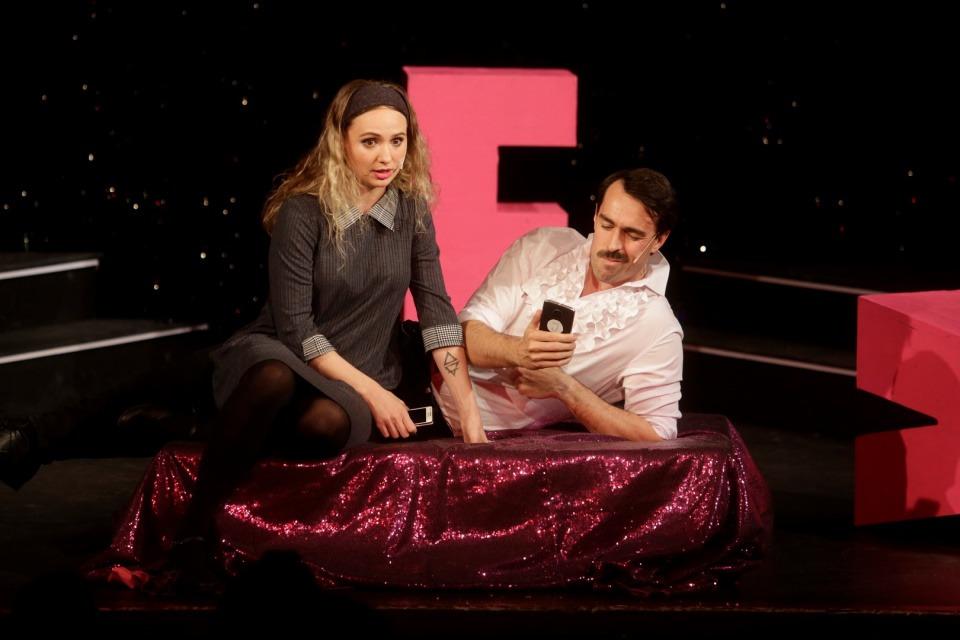 50 ODSTÍNŮ Divadlo Radka Brzobohatého Charlotte Doubravová a Ondřej Černý
