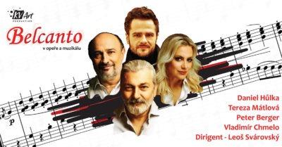 Mimořádný koncert BELCANTO v opeře a muzikálu