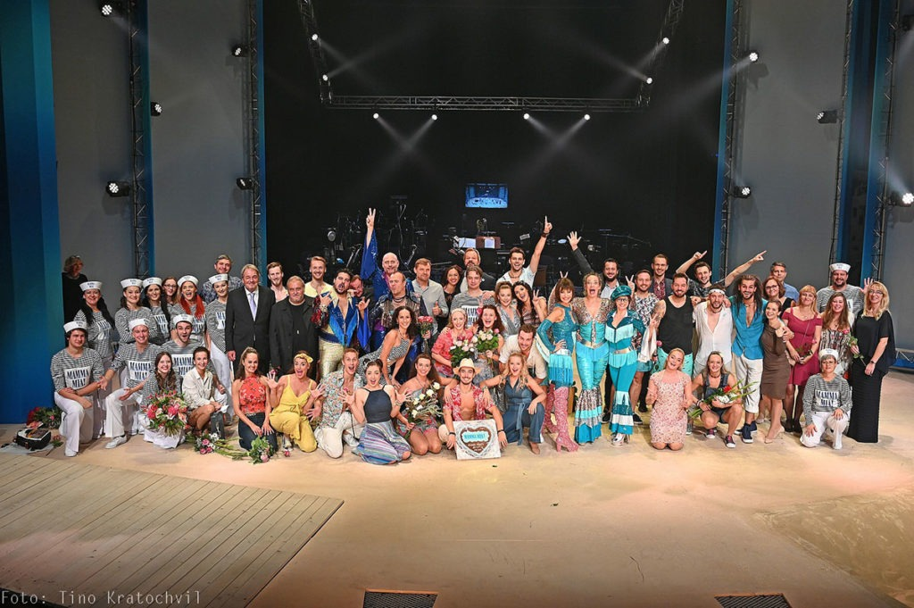 Mamma Mia Městské divadlo Brno MdB