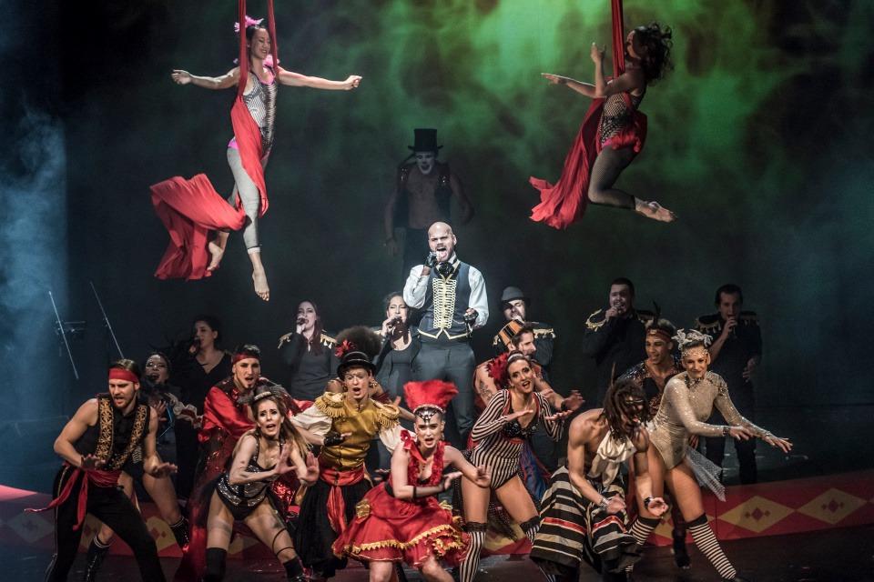 The Greatest Show Reincarnation Divadlo na Vinohradech (Divadlo Hybernia)