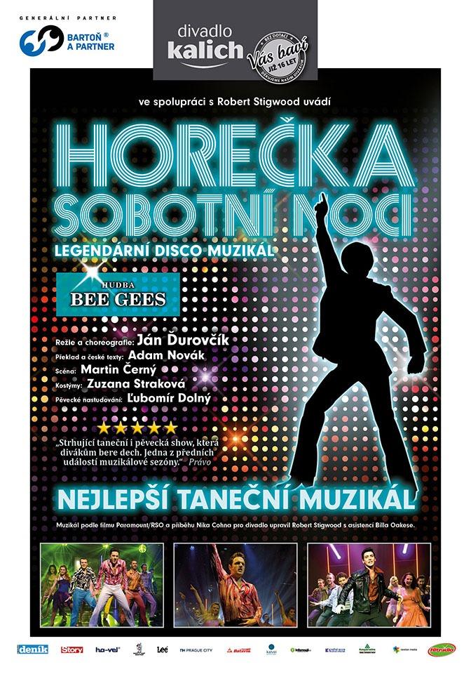 Horečka sobotní noci Divadlo Kalich