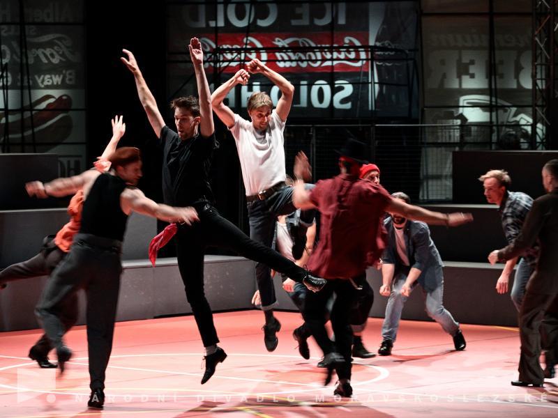 West Side Story muzikál Národní divadlo moravskoslezské Divadlo Jiřího Myrona Ostrava