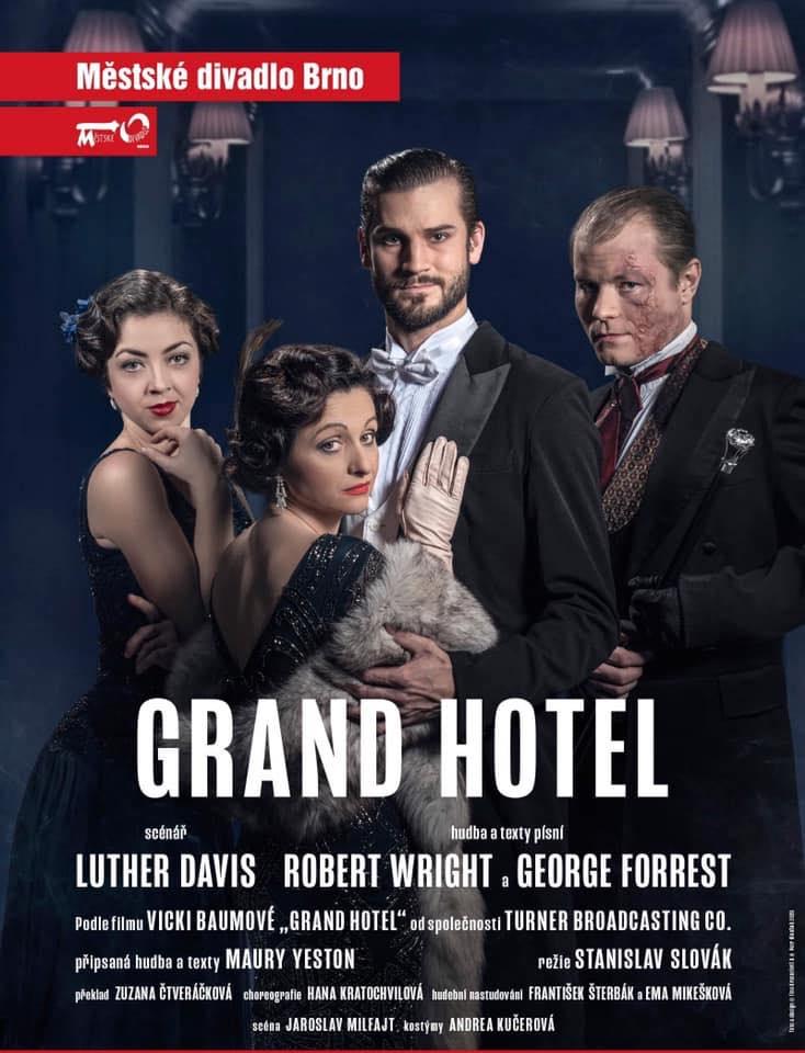 Muzikál Grand Hotel Městské divadlo Brno MdB