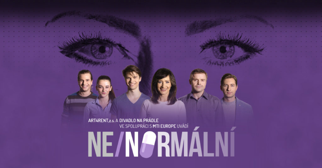 NE/NORMÁLNÍ muzikál Next to Normal Divadlo Na Prádle