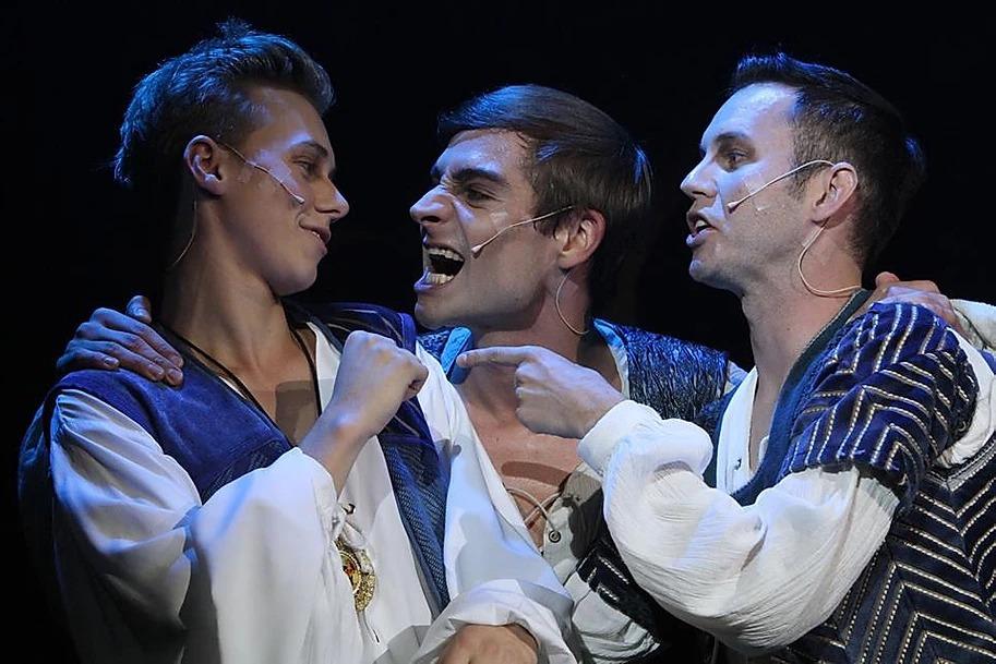 Romeo a Julie s Vojtěchem Drahokoupilem a Alešem Slaninou (foto Petr Marek)