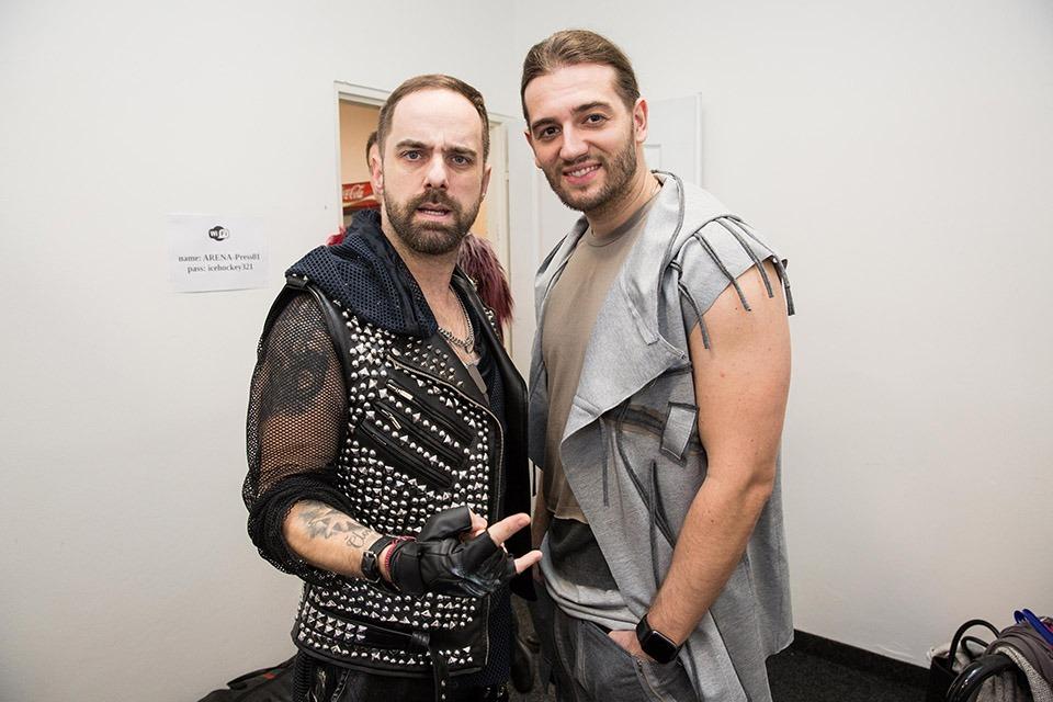 Petr Kutheil a Jan Kopečný WE WILL ROCK YOU muzikál musical
