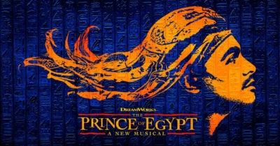 Poslechněte si nahrávku nového muzikálu The Prince of Egypt (Princ egyptský)