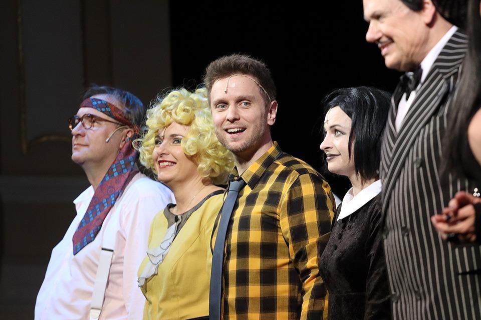 Addams Family muzikál Hudební divadlo Karlín Tomáš Löbl