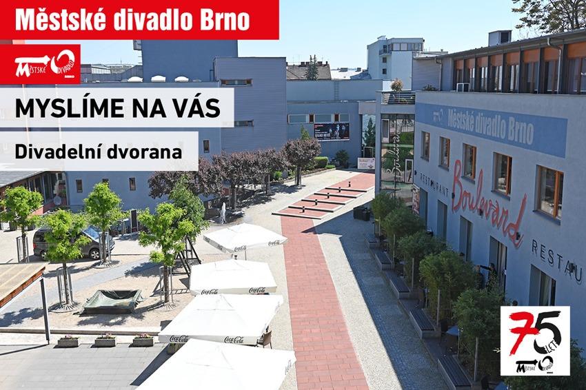 Městské divadlo Brno Myslíme na vás MdB