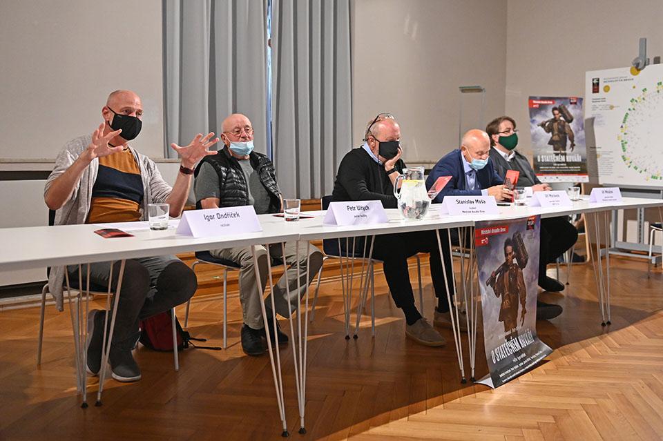 O statečném kováři, Městské divadlo Brno, tisková konference