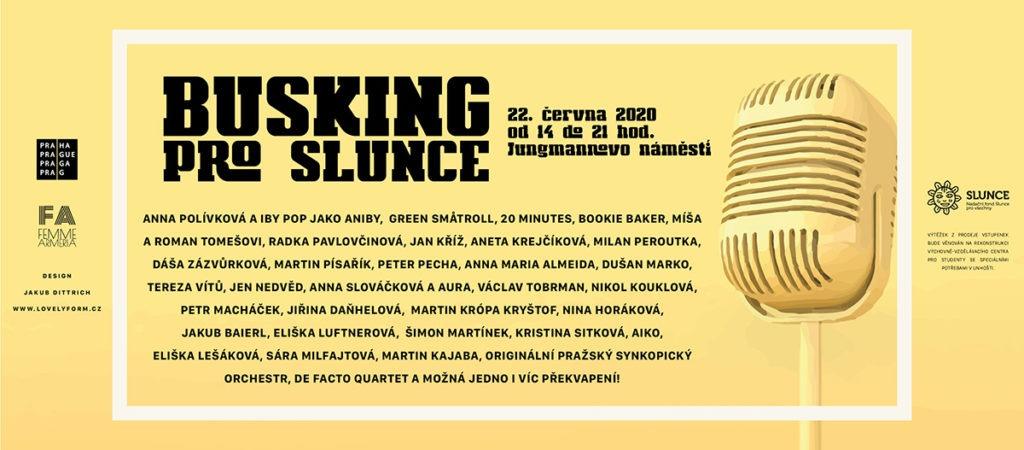 Busking pro Slince 2020