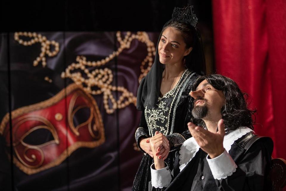 Cyrano, Divadélko Radka Brzobohatého,Eva Burešová, Vojtěch Efler