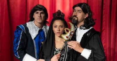 Muzikálová hra CYRANO s Evou Burešovou a Davidem Gránským
