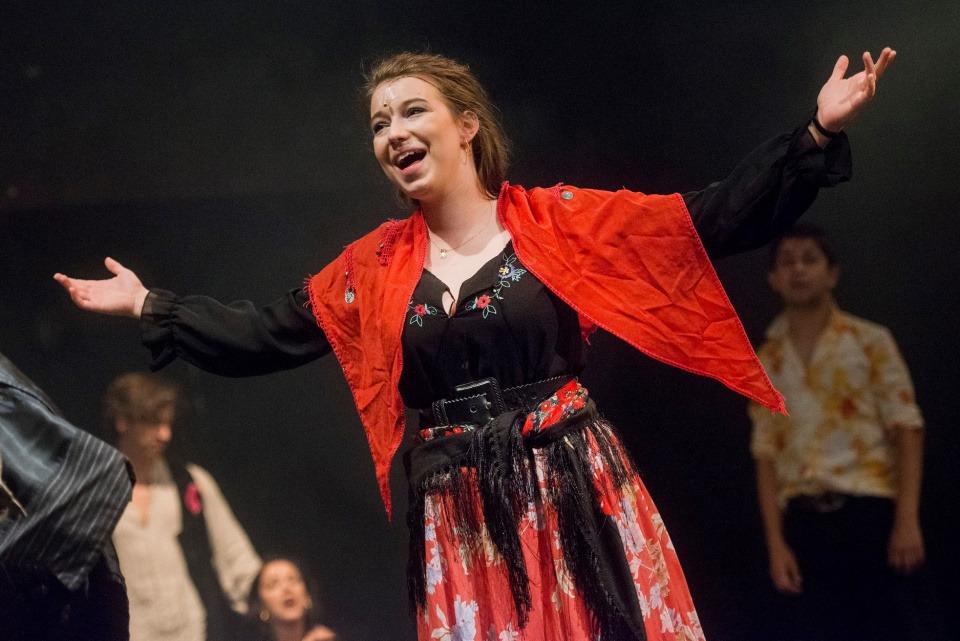 Adriana Bessogonov, Cikáni jdou do nebe, Divadlo Bez zábradlí