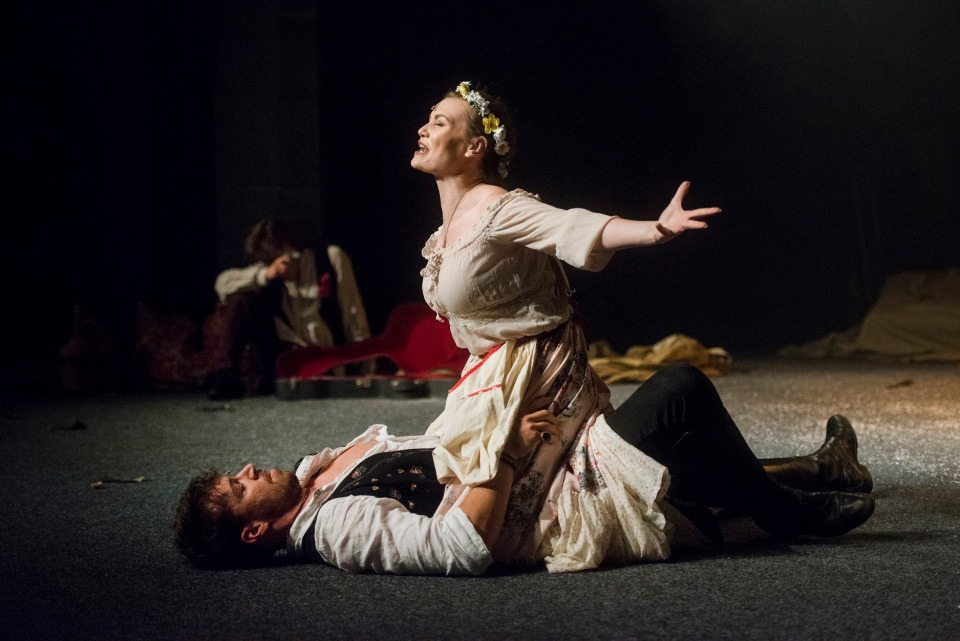 Eliška Ochmanová, Cikáni jdou do nebe, Divadlo Bez zábradlí