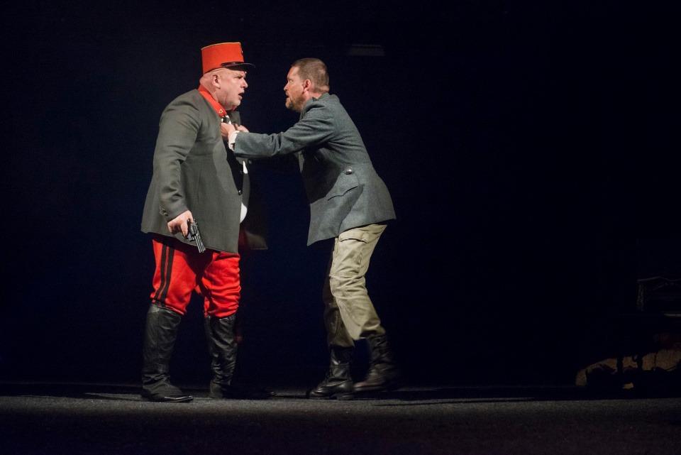 Josef Vrána, Martin Kubačák, Cikáni jdou do nebe, Divadlo Bez zábradlí