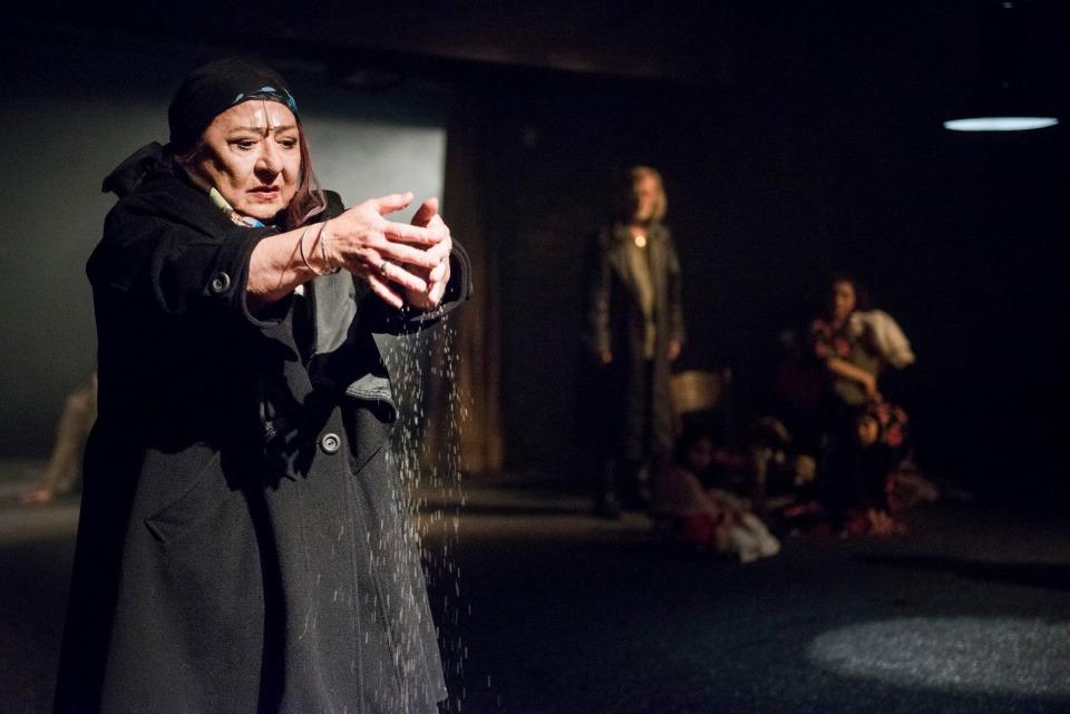 Ludmila Molínová, Cikáni jdou do nebe, Divadlo Bez zábradlí