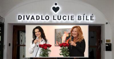 Lucie Bílá si otevřela vlastní divadlo. Vrátí se i muzikály