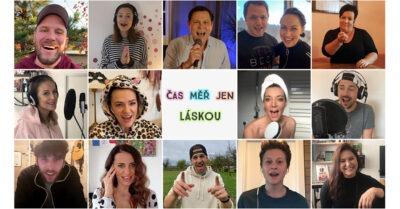 Herci a zpěváci z celé republiky spojili své hlasy v písničce Čas měř jen láskou (video z karantény)