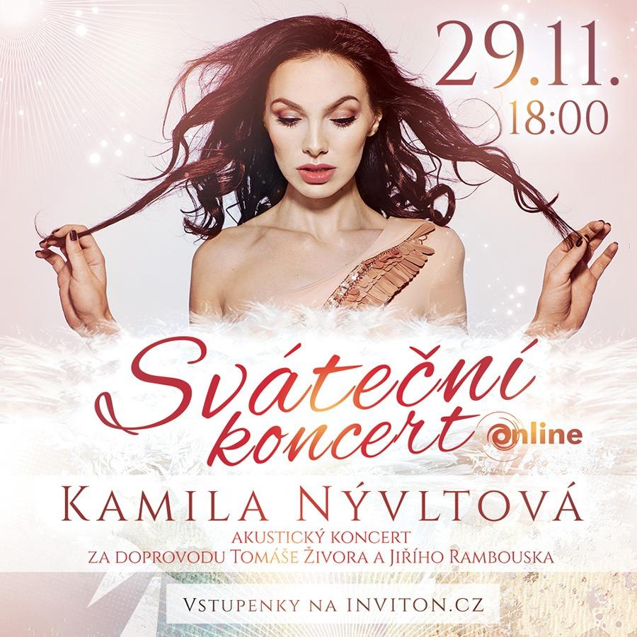Kamila Nývltová - online koncert