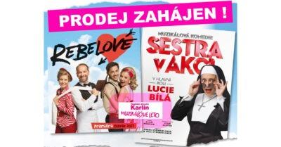 Hudební divadlo Karlín otevírá Letní Open Air scénu a zahájilo prodej vstupenek