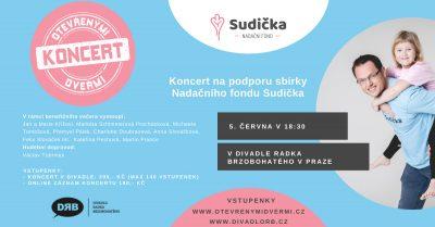 Benefiční koncert pro Sudičku v Divadle Radka Brzobohatého